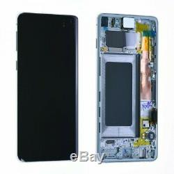 Ecran lcd tactile Samsung galaxy S10 G973F originale noir pack service