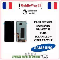 LCD Original Pack Service Samsung Galaxy S8 Plus Sm-g955f Noir