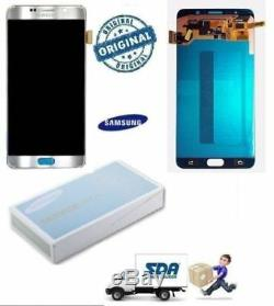 LCD TOUCH DISPLAY ORIGINAL SILVER SILVER SAMSUNG Galaxy Note 5 n920c n920f