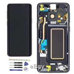 LCD écran Samsung G960F Galaxy S9, G960F DS Galaxy S9 Originale Full Set noir