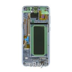 Lcd Touch Display écran bleu original Samsung pour Galaxy S8+ PLUS SM-G955