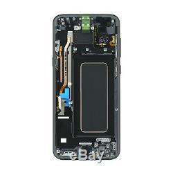 Lcd Touch Display écran noir original Samsung pour Galaxy S8+ PLUS SM-G955