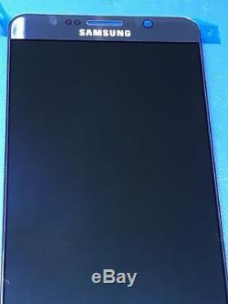 Oem Original Samsung Galaxy Note 5 N920 Bleu Full LCD Assemblage avec Stylet