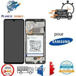 Original Ecran Complet Pour Samsung Galaxy A32 4G A325F Avec Chassis Et Batterie