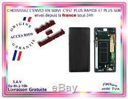 Original Ecran LCD Noir & Vitre Tactile Samsung Galaxy Note 9 Avec Chassis