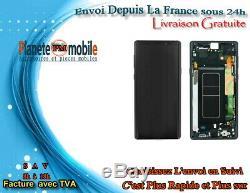 Original Ecran LCD & Vitre Tactile Pour Galaxy Note 9 Avec Chassis Noir