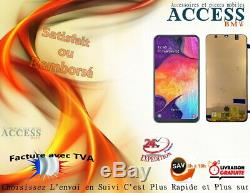 Original Ecran Lcd Samsung Galaxy A50 SM-A505 GH82-19204A / Facture Avec TVA