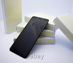 Original SAMSUNG Galaxy A9 A920F Noir LCD Écran D'Affichage Cadre Neuf