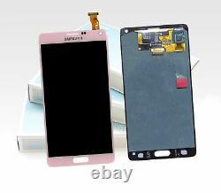 Original SAMSUNG Galaxy Note 4 Rose Vif SM-N910F LCD Écran D'Affichage LCD Neuf