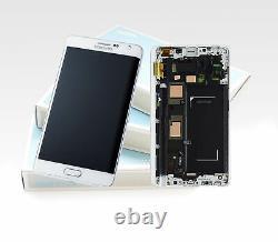 Original SAMSUNG Galaxy Note EDGE Blanc SM-N915 LCD Écran D'Affichage LCD Neuf