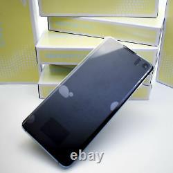 Original SAMSUNG Galaxy S10 G973 Prism Bleu Affichage LCD Écran Cadre Neuf