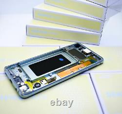 Original SAMSUNG Galaxy S10 G973 Prism Vert Affichage LCD Écran Cadre Neuf