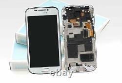 Original SAMSUNG Galaxy S4 mini Blanc i9195 LCD Écran Verre Devant Neuf