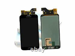 Original SAMSUNG Galaxy S5 mini Noir SM-G800F Affichage LCD Cadre Écran