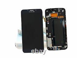 Original SAMSUNG Galaxy S6 EDGE PLUS Bleu Noir SM-G928 LCD Écran D'Affichage