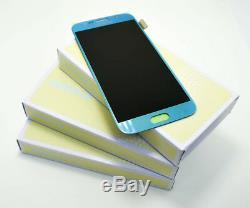 Original SAMSUNG Galaxy S6 Topaze Bleu Bleu SM-G920F Affichage LCD Écran Neuf