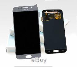 Original SAMSUNG Galaxy S7 Argent SM-G930F Affichage LCD Écran Cadre Neuf