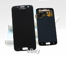 Original SAMSUNG Galaxy S7 Noir SM-G930F Affichage LCD Écran Cadre Neuf