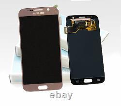 Original SAMSUNG Galaxy S7 or Rose SM-G930F Affichage LCD Écran Cadre Neuf