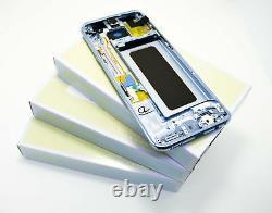 Original SAMSUNG Galaxy S8 Plus Bleu G955F Affichage LCD Écran Cadre Edge