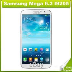 Original Samsung Galaxy Mega 6.3 I9205 6.3 Android Débloqué d'usin 4G LTE Blanc
