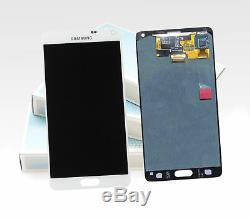 Original Samsung Galaxy Note 4 Blanc SM-N910F LCD Affichage Écran LCD Neuf