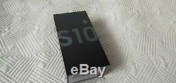 Original Samsung Galaxy S10+ 128Go Noir Prisme (Désimlocké) (Double SIM)