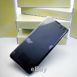 Original Samsung Galaxy S10 G973 Prism Bleu Affichage LCD Écran Cadre Nouveau