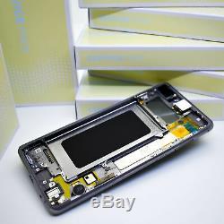 Original Samsung Galaxy S10+G975 Prism Noir Affichage LCD Écran Cadre