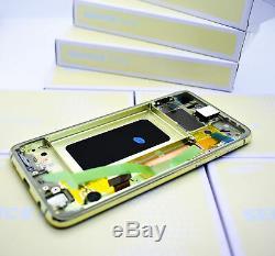 Original Samsung Galaxy S10E G970 Canary Jaune Affichage LCD Écran Cadre