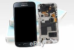 Original Samsung Galaxy S4 Mini Noir i9195 Affichage LCD Écran Verre Devant
