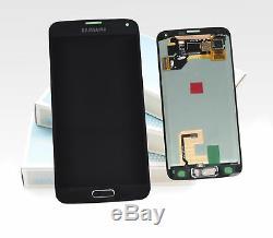 Original Samsung Galaxy S5 Noir Bleu SM-G900F Ecran LCD Cadre