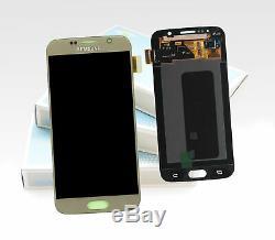 Original Samsung Galaxy S6 Doré SM-G920F Affichage LCD Écran Cadre Nouveau