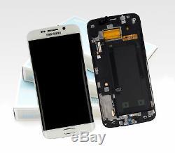 Original Samsung Galaxy S6 Edge Pearl Blanc SM-G925F Affichage LCD Écran Neuf