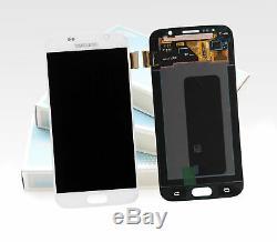Original Samsung Galaxy S6 Perle Blanche Blanc SM-G920F Affichage LCD Écran Neuf