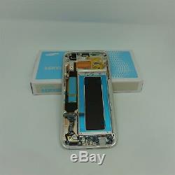 Original Samsung Galaxy S7 bord SM-G935F, G935F LCD écran tactile noir