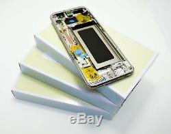 Original Samsung Galaxy S8 Doré G950F Affichage LCD Écran Cadre Edge Neuf