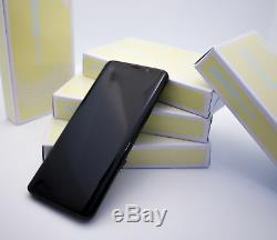 Original Samsung Galaxy S9 Minuit Noir G960F Ecran LCD Cadre