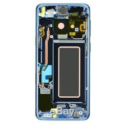 Original Samsung Galaxy S9 SM-G960F Écran Tactile D'Affichage LCD Écran Bleu