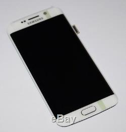Original Samsung Sm-G925f Galaxy S6 Edge Affichage LCD Écran Tactile Blanc