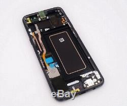 Original Samsung Sm-G950f Galaxy S8 Affichage LCD Écran à Écran Tactile Noir