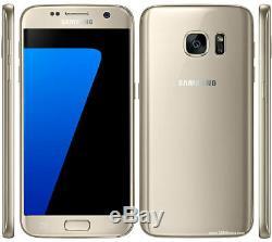 Original Unlocked Samsung Galaxy S7 SM-G930F Smartphone Gold+Accessories Gift