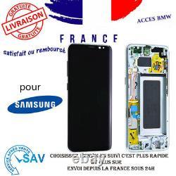 Originale Ecran Complet Argent Polaire Pour Samsung Galaxy S8 G950F Avec Châssis