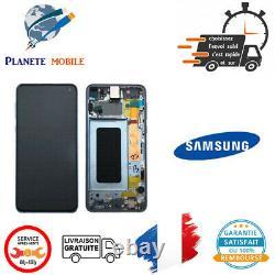 Originale Ecran LCD Complet Bleu Pour Samsung Galaxy S10e (G970F) Avec Châssis
