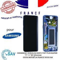 Originale Ecran LCD Complet Bleu Pour Samsung Galaxy S9 G960F Avec Châssis