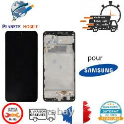 Originale Ecran LCD Complet Noir Pour Samsung Galaxy A22 4G (A225F)