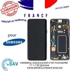 Originale Ecran LCD Complet Noir Pour Samsung Galaxy S9+ G965F Avec Châssis