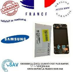 Originale Pour Samsung Galaxy A30 A305 SM-A305F Ecran Tactile Digitizer Noir RHN