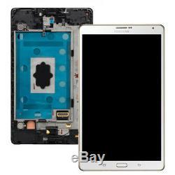 Pantalla Completa Samsung Galaxy Tab S 8.4 T700 Blanco Original Nuevo
