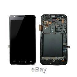 Plein Écran Cadre Samsung Galaxy S2 LTE GT-i9210 Noir Original Nouveau